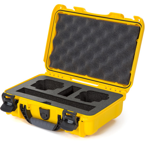 Nanuk Waterproof Hard Case with Foam Insert for DJI Osmo Action Camera (Yellow)