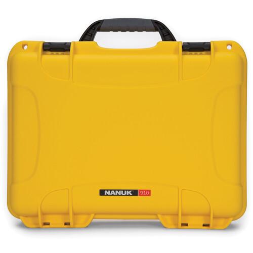 Nanuk 910 Case (Yellow)