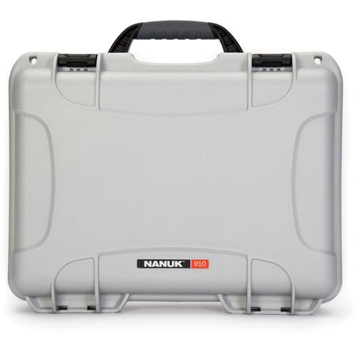 Nanuk 910 Case (Silver)