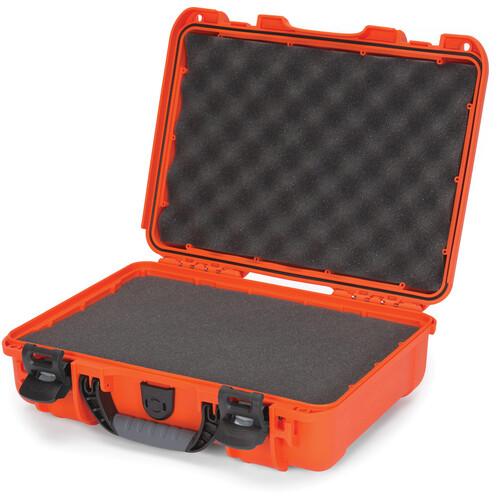 Nanuk 910 Hard Utility Case with Foam Insert (Orange)