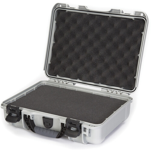 Nanuk 910 Case with Foam (Silver)