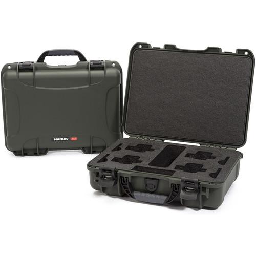 Nanuk 910 Waterproof Hard Case for GoPro (Olive)