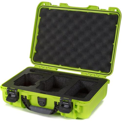 Nanuk 910 Waterproof Hard Case with Insert for DJI Mavic Air (Lime)