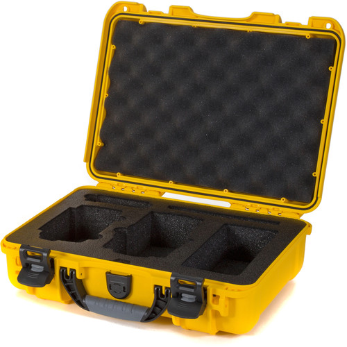 Nanuk 910 Waterproof Hard Case with Insert for DJI Mavic Air (Yellow)