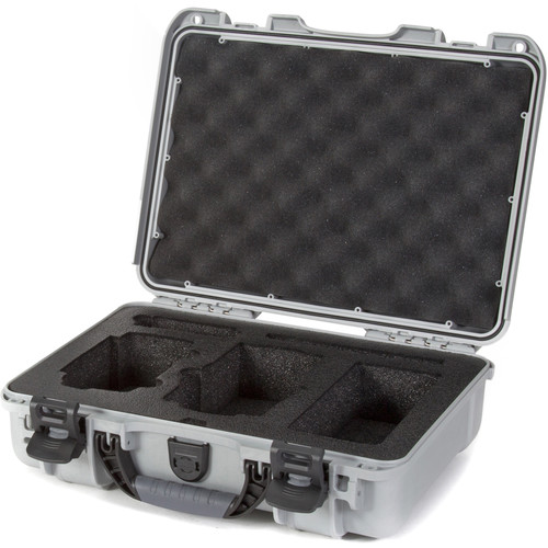 Nanuk 910 Waterproof Hard Case with Insert for DJI Mavic Air (Silver)