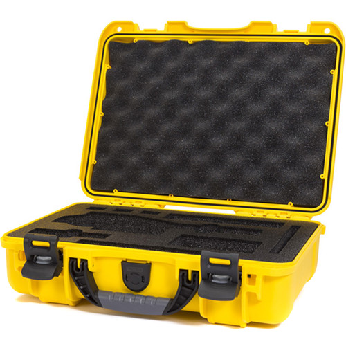 Nanuk 910 Waterproof Hard Case with Insert for DJI Osmo Series (Yellow)