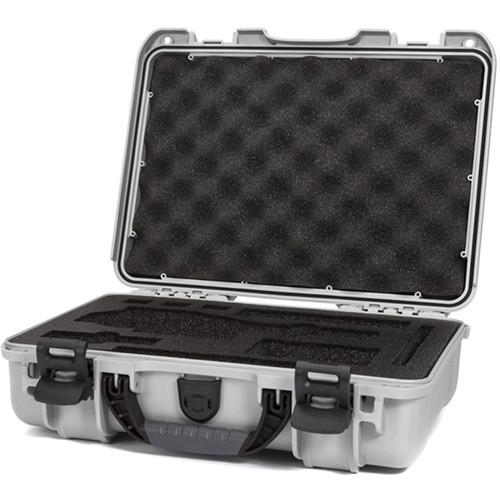 Nanuk 910 Waterproof Hard Case with Insert for DJI Osmo Series (Silver)