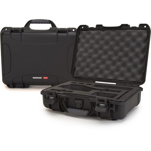 Nanuk Case with Foam Insert for DJI Osmo Series Cameras (Black)