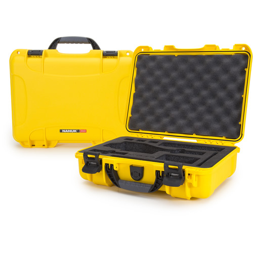 Nanuk Case with Foam Insert for DJI Osmo Series Cameras (Yellow)