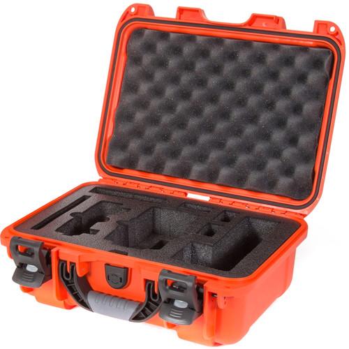 Nanuk 915 Waterproof Hard Case with Insert for DJI Mavic Air Fly More Combo (Orange)