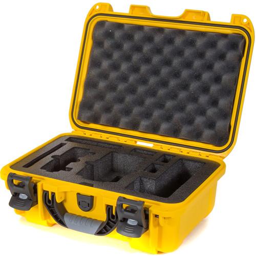 Nanuk 915 Waterproof Hard Case with Insert for DJI Mavic Air Fly More Combo (Yellow)