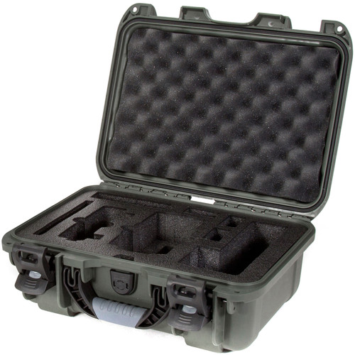 Nanuk 915 Waterproof Hard Case with Insert for DJI Mavic Air Fly More Combo (Olive)