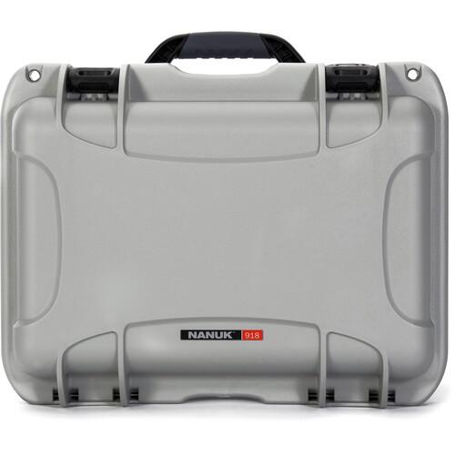 Nanuk 918 Case (Silver)