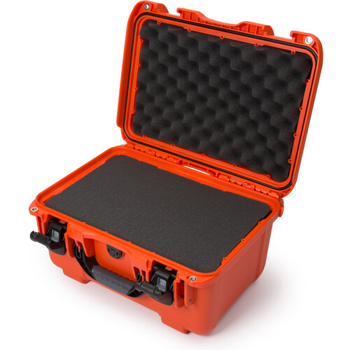Nanuk 918 Case with Cubed Foam Insert (Orange)