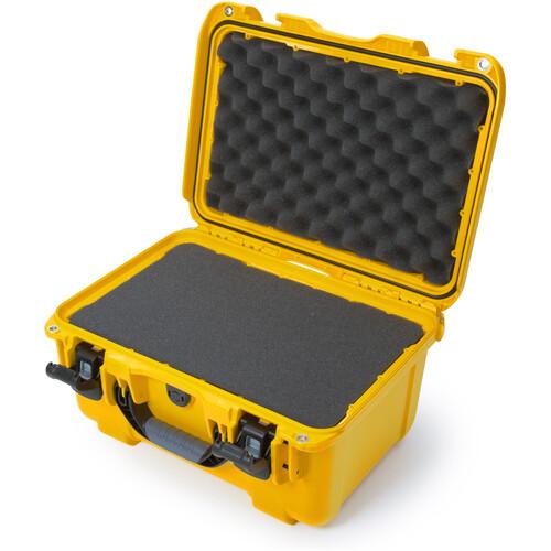 Nanuk 918 Case with Cubed Foam Insert (Yellow)