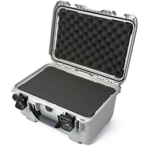 Nanuk 918 Case with Cubed Foam Insert (Silver)