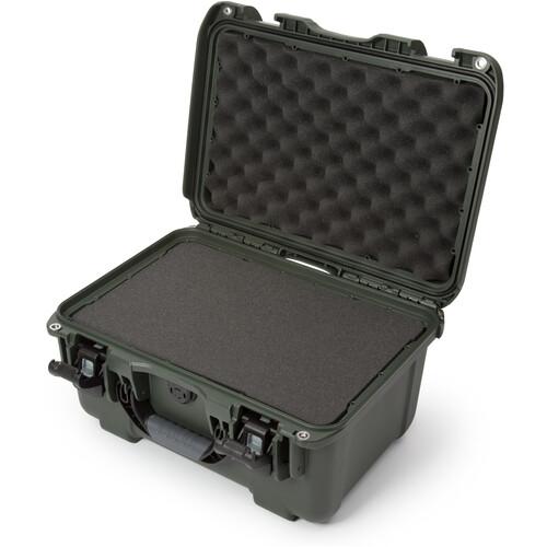 Nanuk 918 Case with Cubed Foam Insert (Olive)