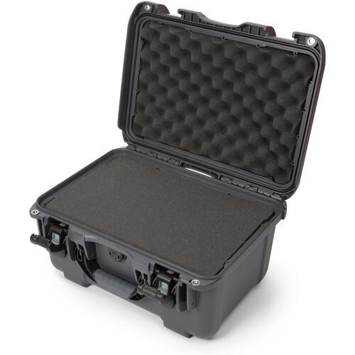 Nanuk 918 Case with Cubed Foam Insert (Graphite)