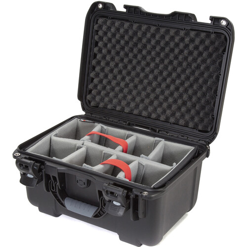 Nanuk 918 Case with Padded Dividers (Black)