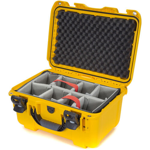 Nanuk 918 Case with Padded Dividers (Yellow)