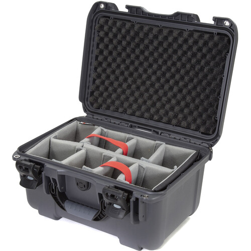 Nanuk 918 Case with Padded Dividers (Graphite)