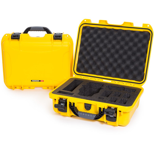 Nanuk 920 Waterproof Hard Case for DJI Mavic (Yellow)