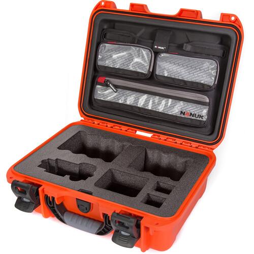 Nanuk 920 Hard Case with Sony a7R Camera Foam & Lid Organizer (Orange)