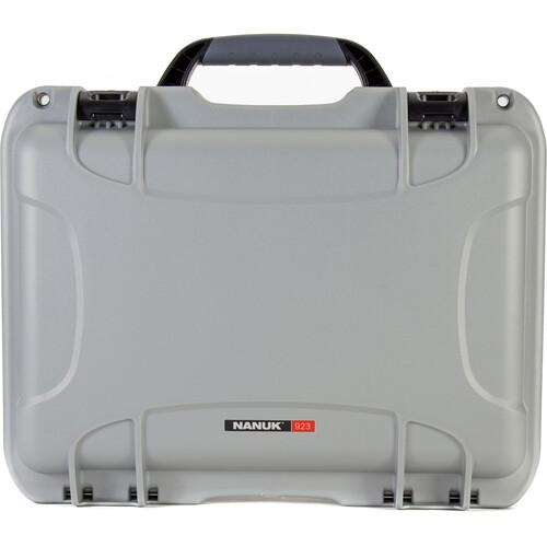 Nanuk 923 Protective Case (Silver)