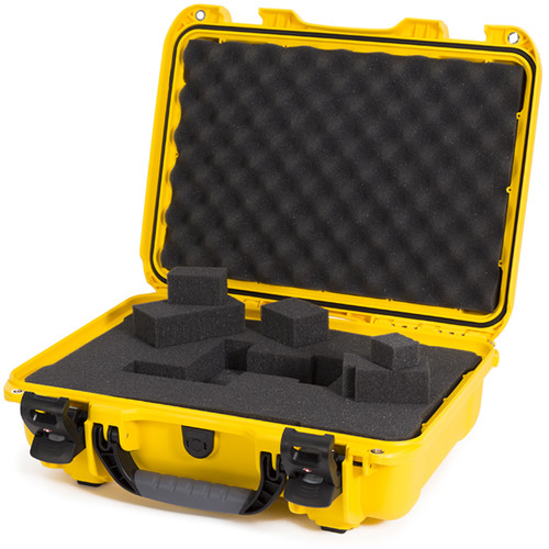 Nanuk 923 Protective Case with Cubed Foam (Yellow)