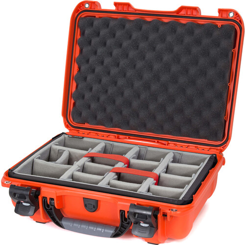 Nanuk 923 Protective Case with Padded Dividers (Orange)
