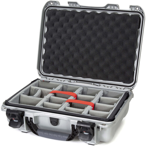 Nanuk 923 Protective Case with Padded Dividers (Silver)