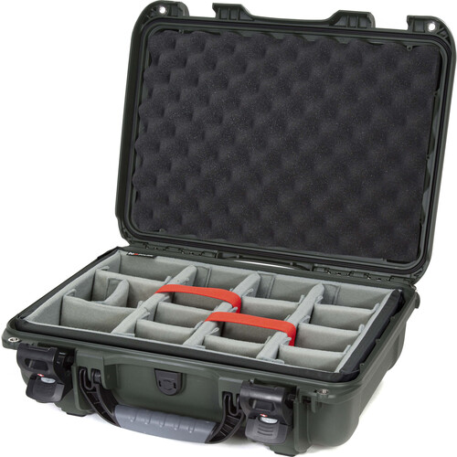 Nanuk 923 Protective Case with Padded Dividers (Olive)