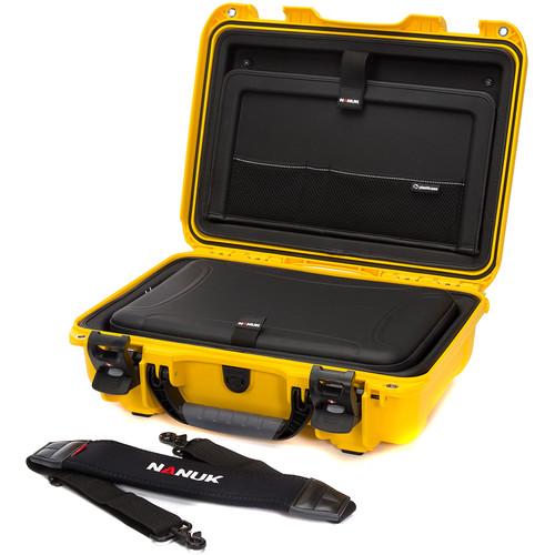 """Nanuk 923 15"""" Laptop Case (Yellow)"""