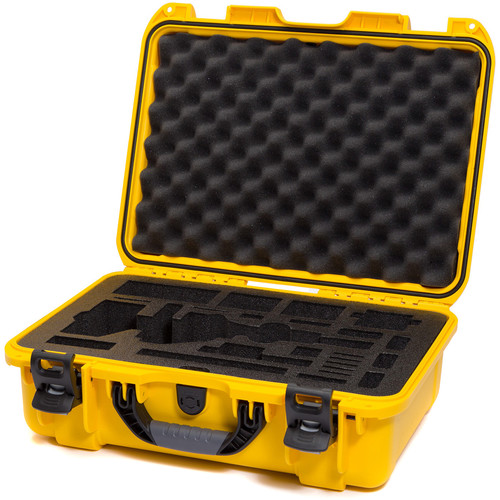 Nanuk Carrying Case with Foam Insert for DJI Osmo Pro/RAW Stabilizer (Yellow)
