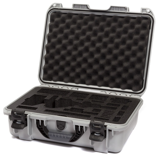 Nanuk Carrying Case with Foam Insert for DJI Osmo Pro/RAW Stabilizer (Silver)