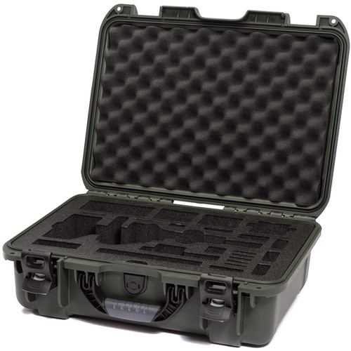 Nanuk Carrying Case with Foam Insert for DJI Osmo Pro/RAW Stabilizer (Olive)