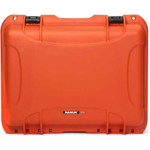 Nanuk 933 Protective Equipment Case (Orange)