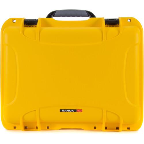 Nanuk 933 Protective Equipment Case (Yellow)