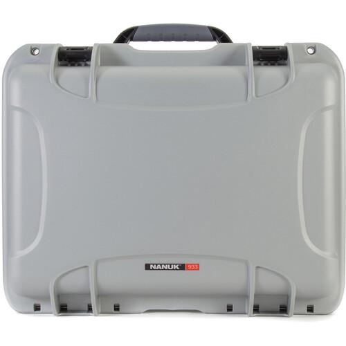 Nanuk 933 Case without Foam (Silver)