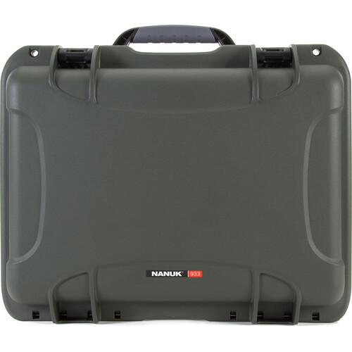 Nanuk 933 Protective Equipment Case (Olive)