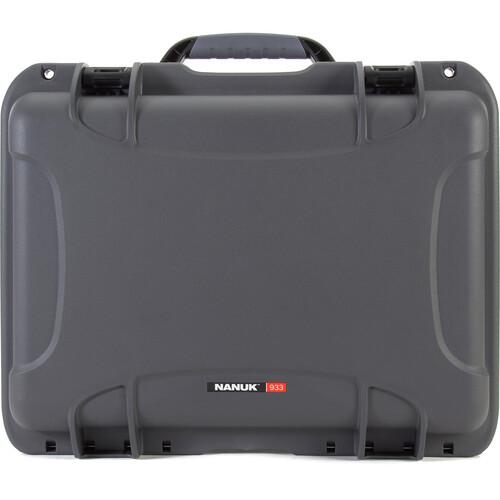 Nanuk 933 Protective Equipment Case (Graphite)