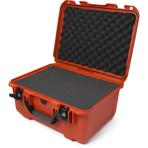 Nanuk 933 Protective Equipment Case with Cubed Foam (Orange)