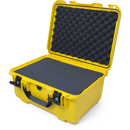 Nanuk 933 Protective Equipment Case with Cubed Foam (Yellow)