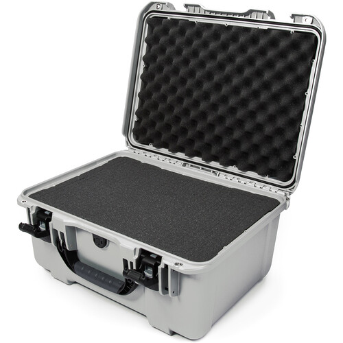 Nanuk 933 Protective Equipment Case with Cubed Foam (Silver)