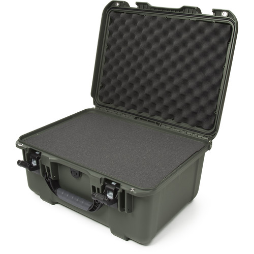 Nanuk 933 Protective Equipment Case with Cubed Foam (Olive)