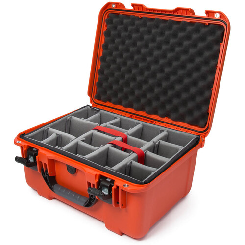 Nanuk 933 Protective Equipment Case with Padded Dividers (Orange)