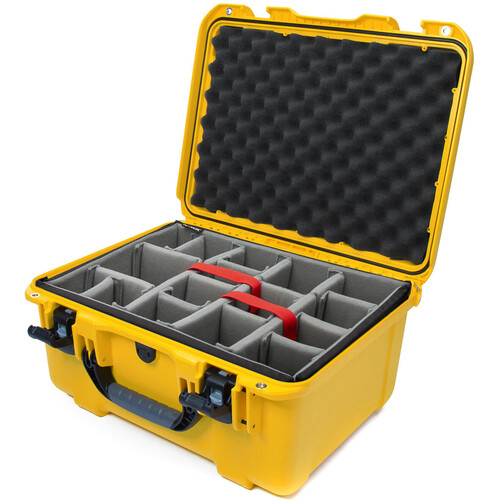 Nanuk 933 Protective Equipment Case with Padded Dividers (Yellow)
