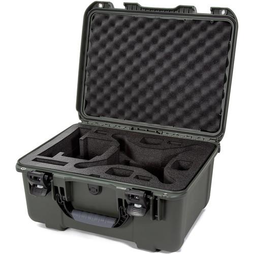 Nanuk 933 Hard-Shell Travel Case for Select DJI Phantom 4 Drones (Olive)