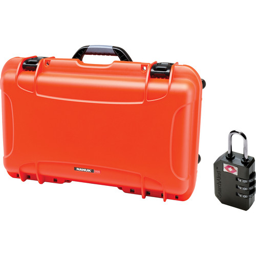 Nanuk Protective 935 Case with Padlock (Orange)