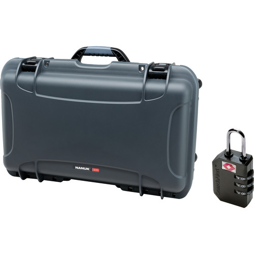 Nanuk Protective 935 Case with Padlock (Graphite)